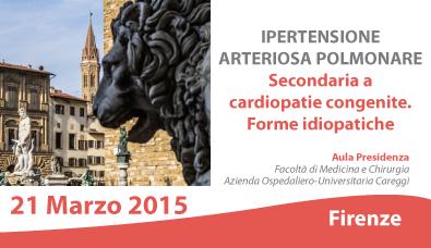 IPERTENSIONE ARTERIOSA POLMONARE: Secondaria a cardiopatie..